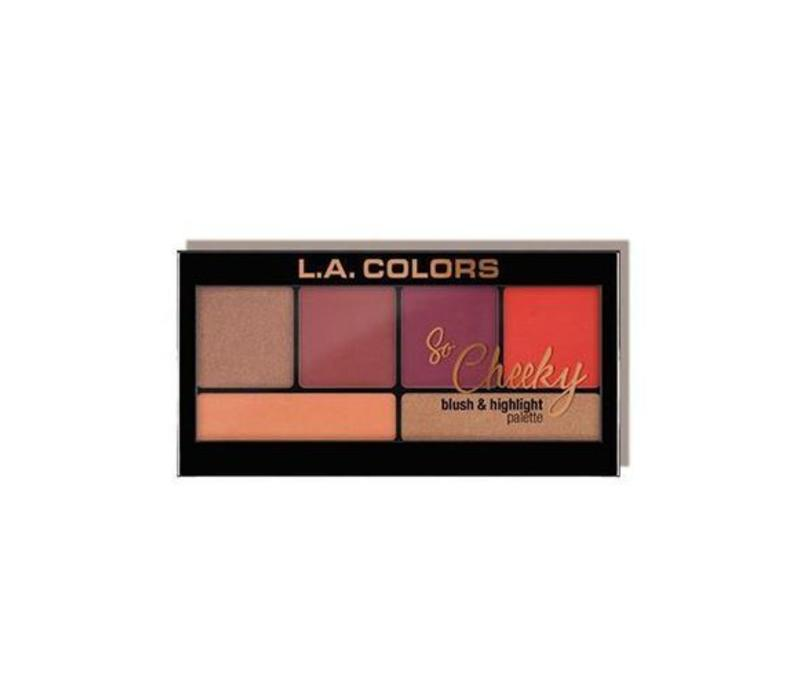 LA Colors So Cheeky Blush & Highlighter Hot and Spicy