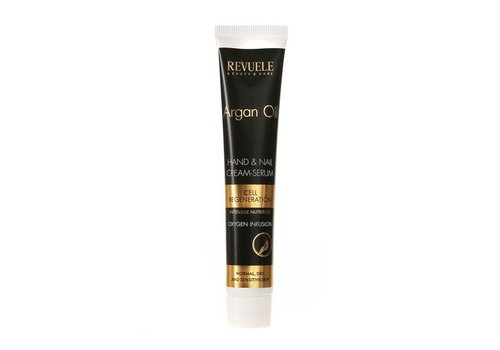 Revuele Argan Oil Hand & Nail Cream-Serum