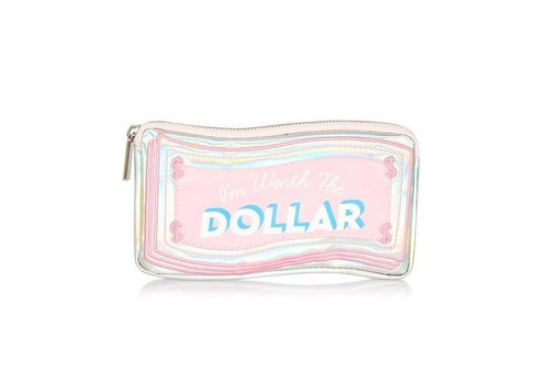 Skinny Dip London Worth The Dollar Make Up Bag
