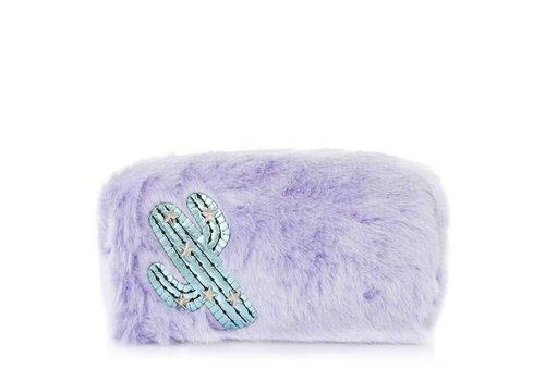 Skinny Dip London Furry Cactus Make Up Bag