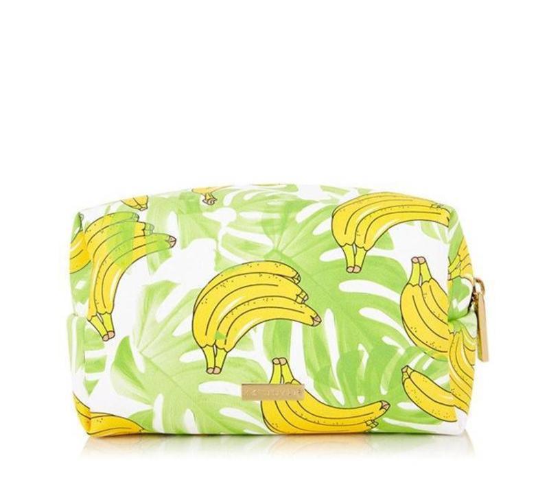 Skinny Dip London Banana Make Up Bag