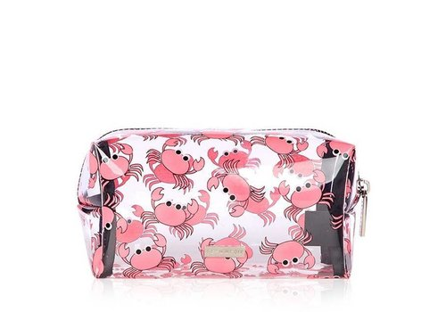 Skinny Dip London Crab Make Up Bag