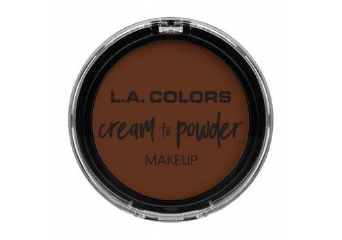 LA Colors Cream to Powder Foundation Cappuccino