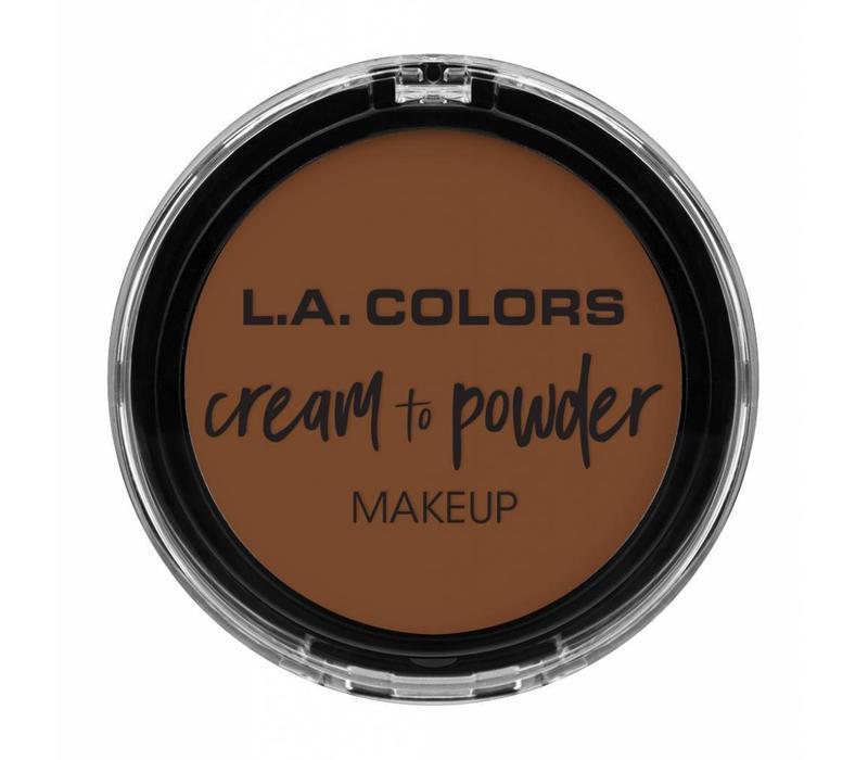 LA Colors Cream to Powder Foundation Caramel