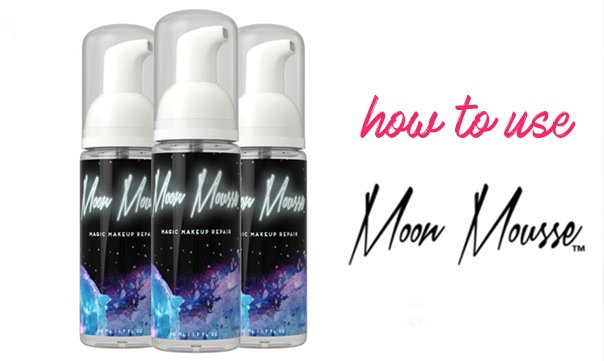 Kapotte make-up? Fix het met Moon Mousse!