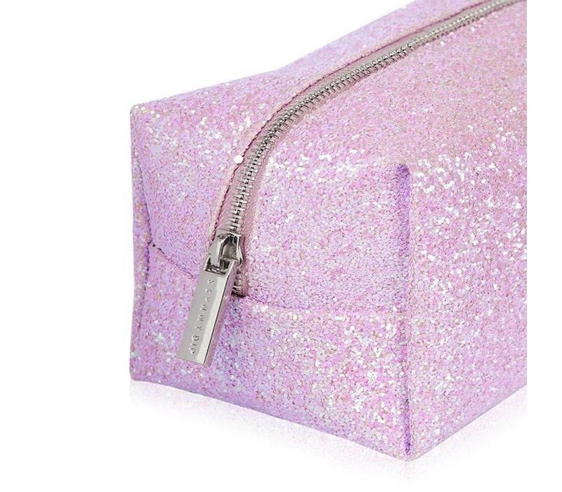 Skinny Dip London Ana Glitter Make Up Bag