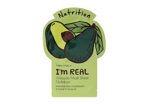 Tonymoly I'm Real Avocado Sheet Mask