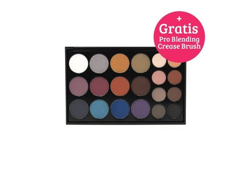 Crown Brush Pro Eyeshadow Bold Collection