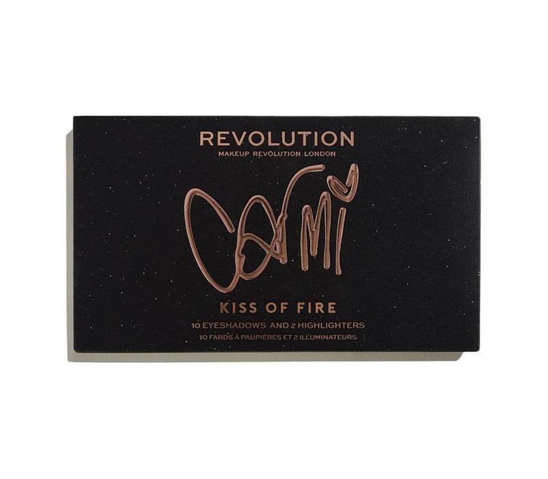Makeup Revolution X Carmi Kiss Of Fire Palette