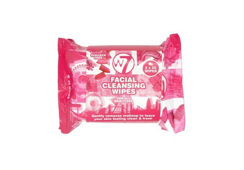W7 Cosmetics Facial Cleansing Wipes