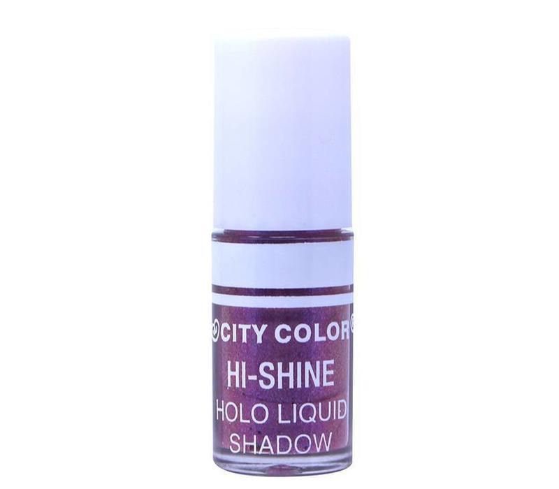 City Color Hi-Shine Holo Liquid Eyeshadow Purple