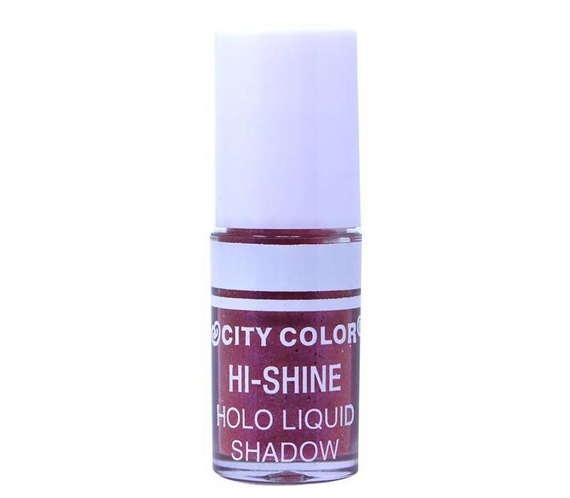City Color Hi-Shine Holo Liquid Eyeshadow Pink Purple