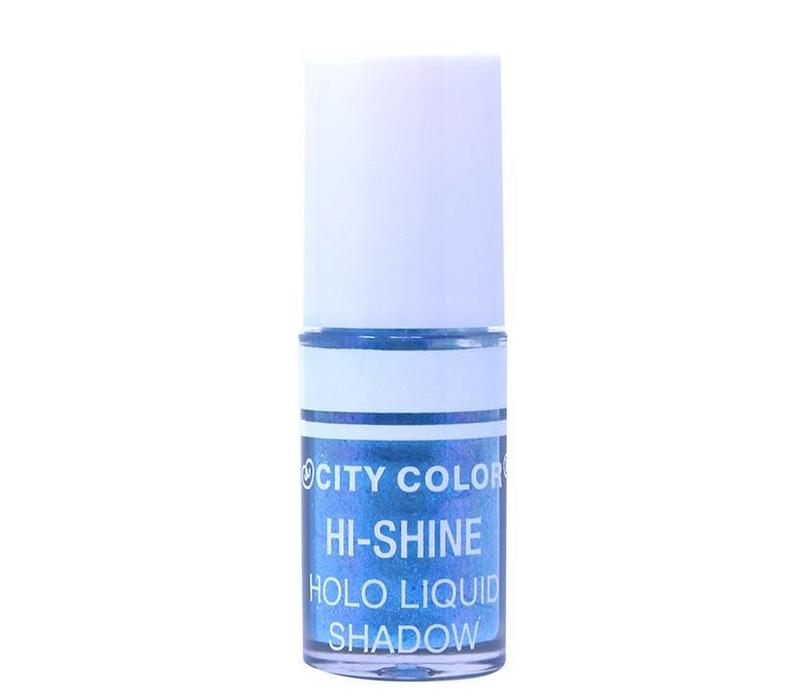 City Color Hi-Shine Holo Liquid Eyeshadow Ocean Blue
