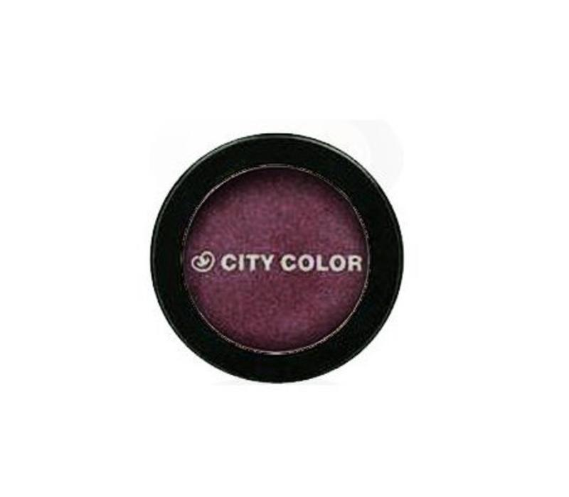 City Color Shimmer Shadow Purple Reign