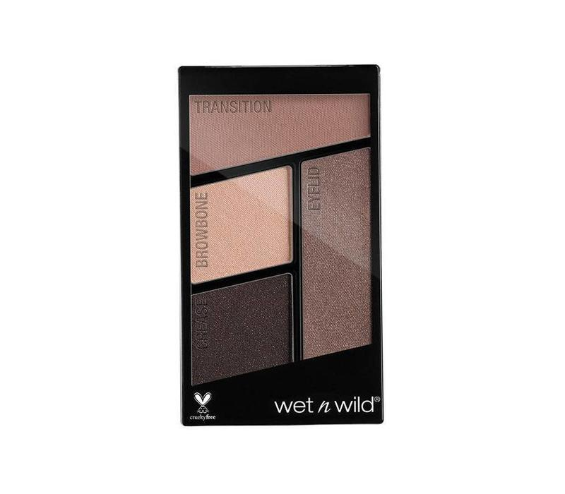 Wet n Wild Color Icon Eyeshadow Quad Silent Treatment