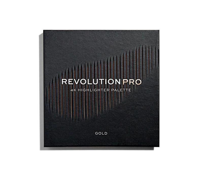 Revolution Pro 4K Highlighter Palette Gold