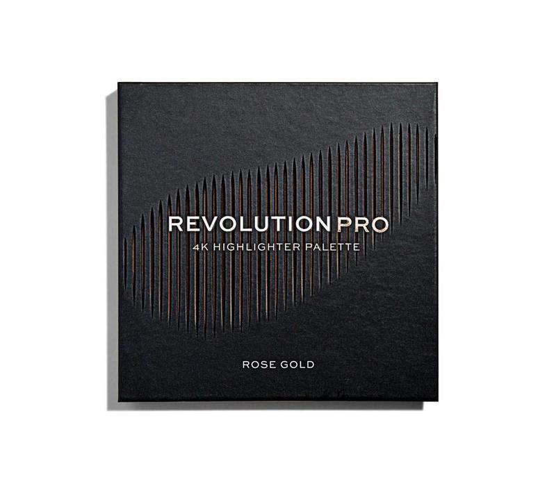 Revolution Pro 4K Highlighter Palette Rose Gold