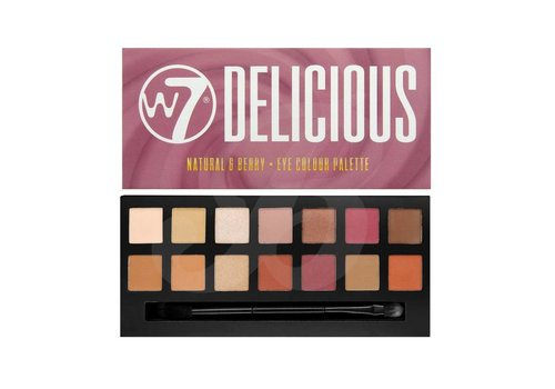 W7 Cosmetics Delicious Natural & Berry Palette