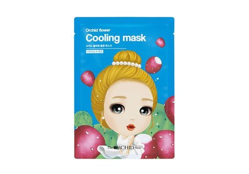 The Orchid Skin Flower Cooling Mask