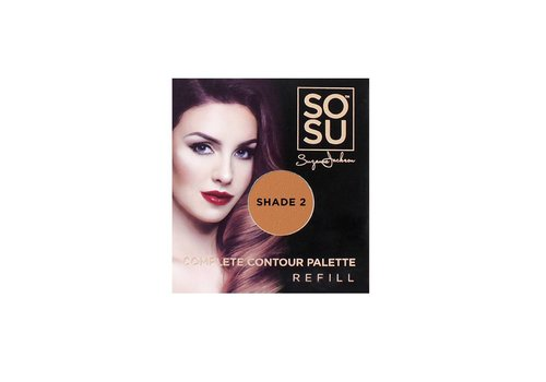 SOSU by Suzanne Jackson Complete Contour Palette Refill Shade 2