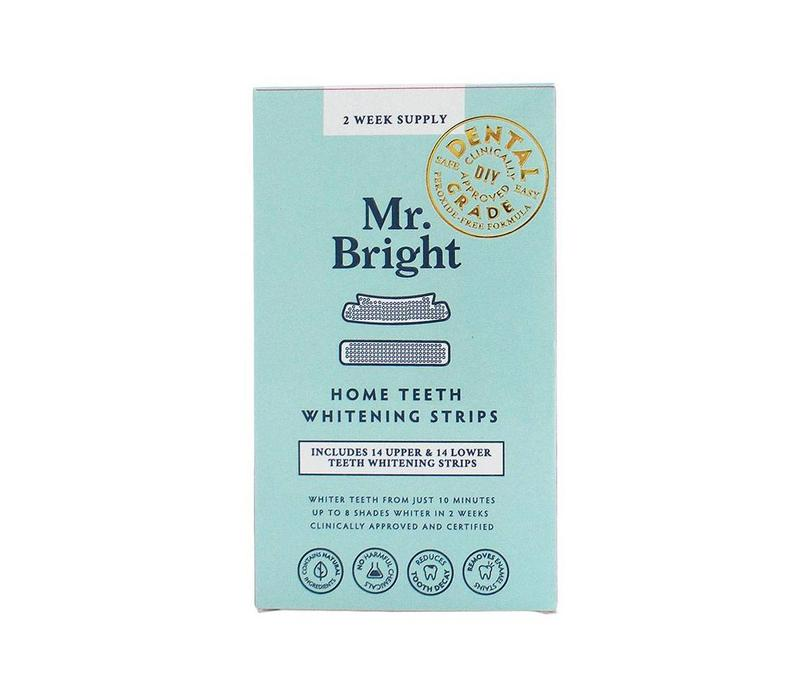 Mr. Bright Teeth Whitening Strips - 14 Day Treatment