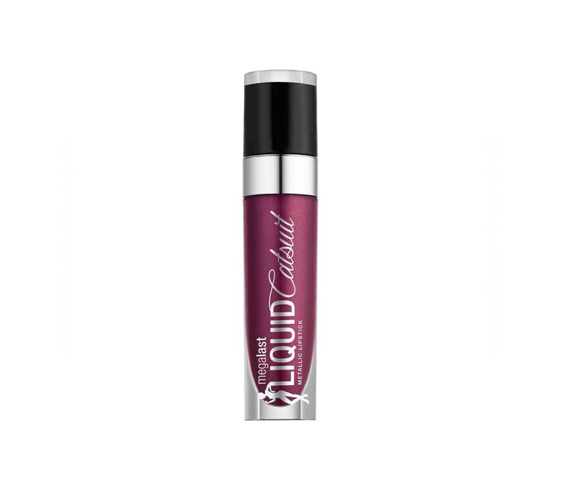 Wet n Wild Megalast Liquid Catsuit Metallic Lipstick Acai So Serious