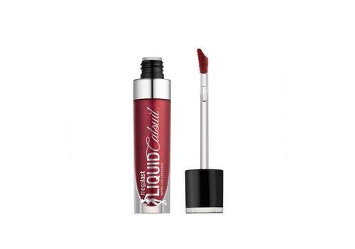 Wet n Wild Megalast Liquid Catsuit Metallic Lipstick Life's No Pink-nic