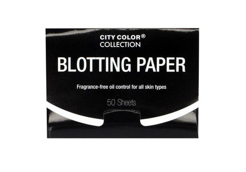 City Color Blotting Paper