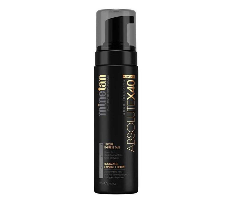 MineTan Absolute X40 Self Tan Foam