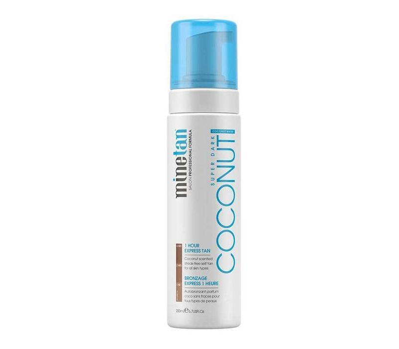 MineTan Coconut Water Self Tan Foam