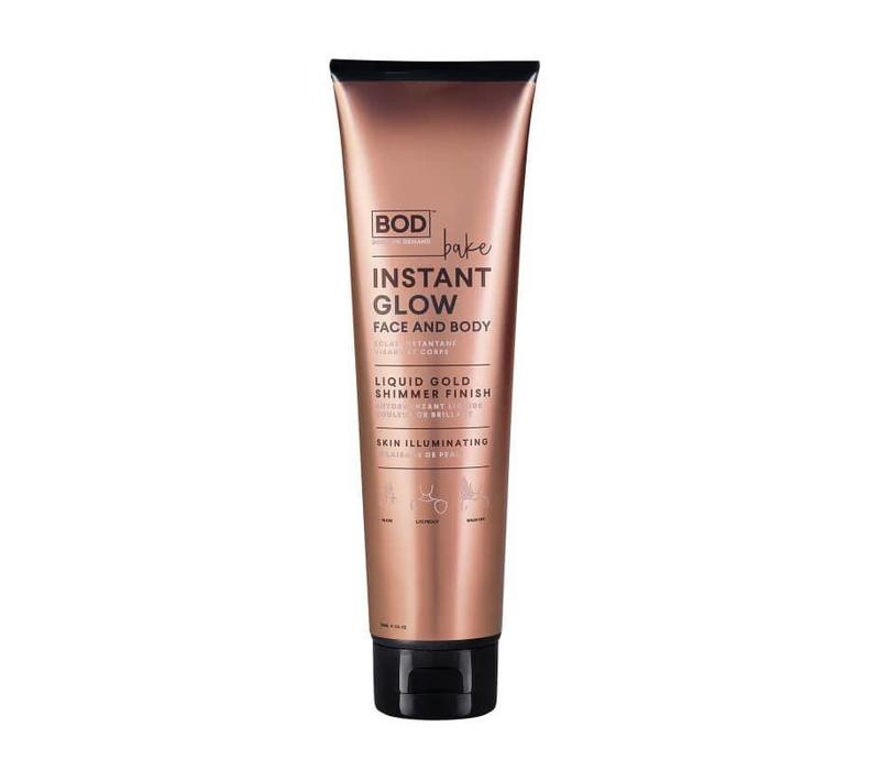 BOD Body on Demand Bake Instant Glow Face and Body Wash Off