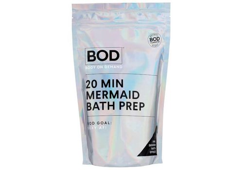BOD Body on Demand 20 min Mermaid Bath Salts Pink Glitter