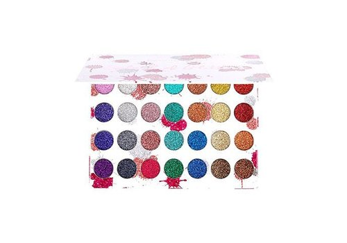 Beauty Creations 28 Color Splash of Glitter Palette
