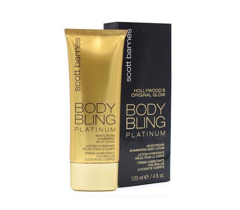 Scott Barnes Platinum Moisturizing Shimmering Body Lotion