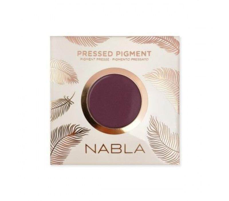 Nabla Pressed Pigment Feather Edition Chérie Shape