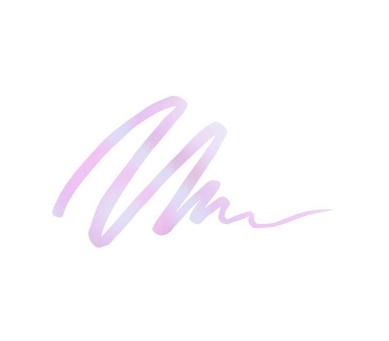 LA Colors Liquid Eyeliner Holographic Cosmic Pink