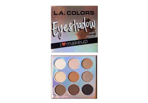 LA Colors Eyeshadow Palette Nude