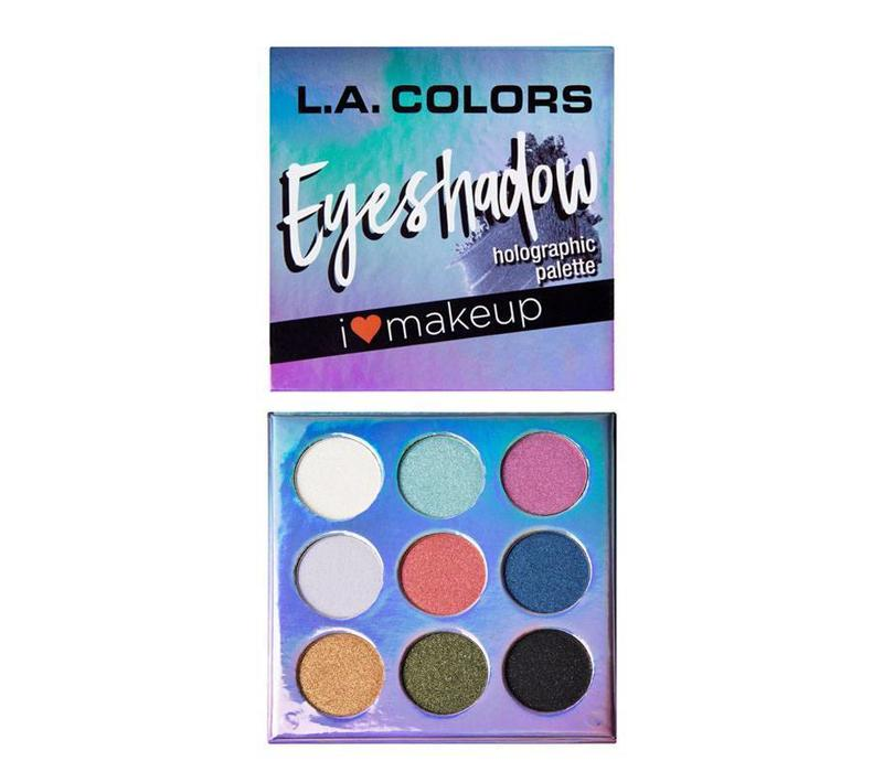 LA Colors Eyeshadow Palette Holographic