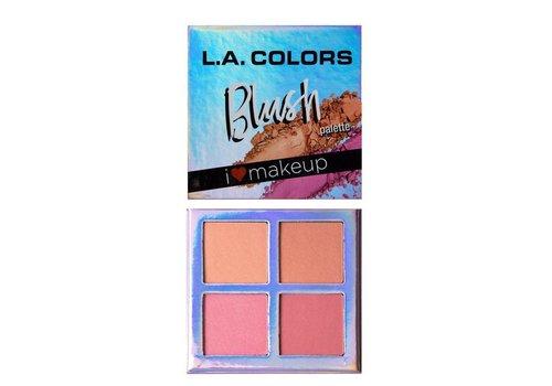 LA Colors Blush Palette Feeling Fabulous