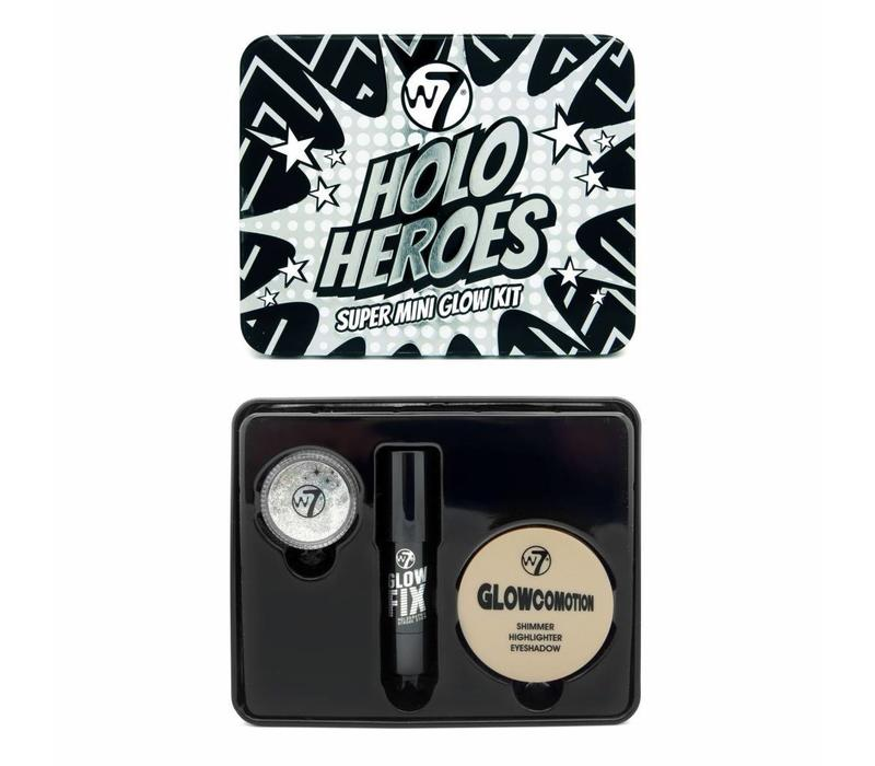 W7 Holo Heroes Super Mini Glow Kit