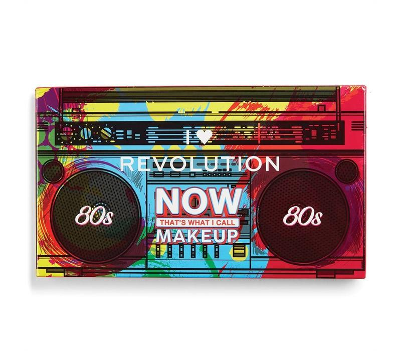 I Heart Revolution NOW That's What I Call Makeup 80's