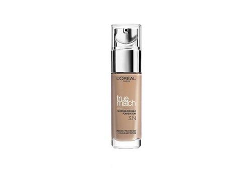 L'Oréal Paris True Match Foundation 3N Creamy Beige