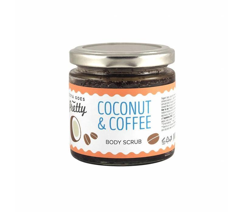 Zoya Goes Pretty Body Scrub Cocnut & Coffee