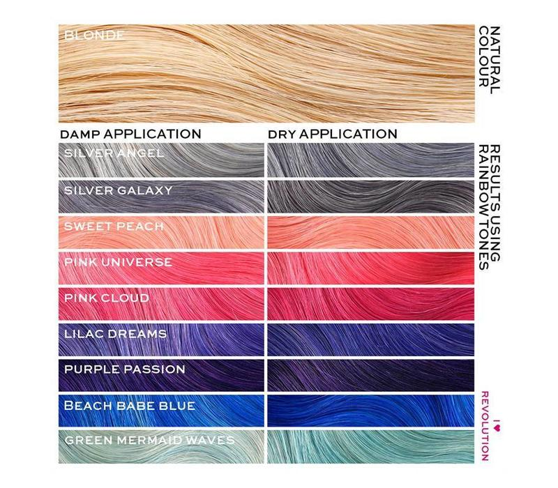 I Heart Revolution Rainbow Tones Long Term Hair Colour Sweet Peach