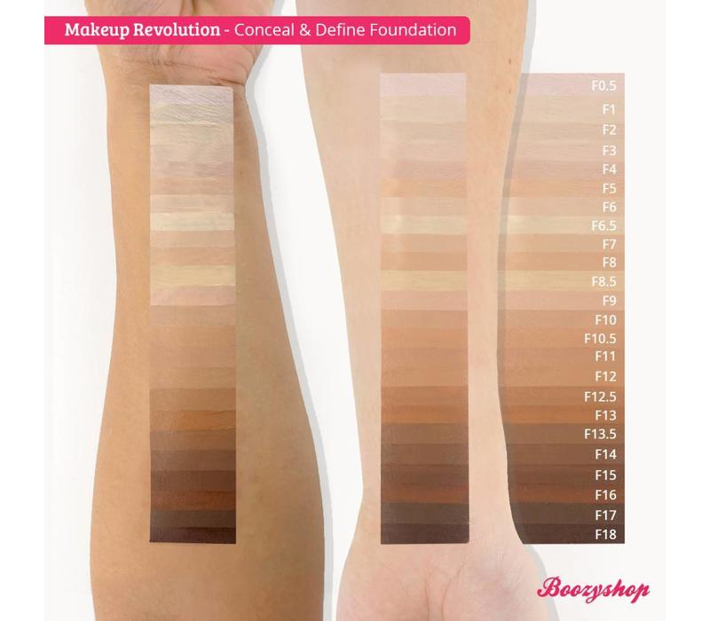Makeup Revolution Conceal & Define Foundation F13