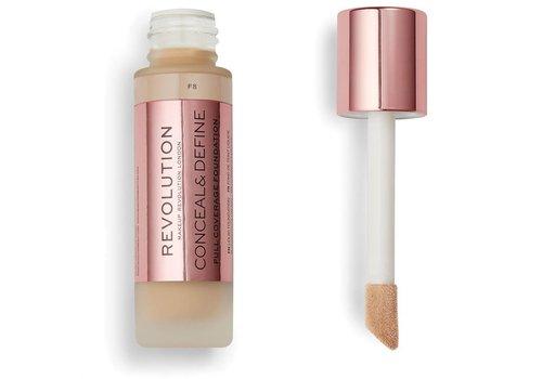 Makeup Revolution Conceal & Define Foundation F8