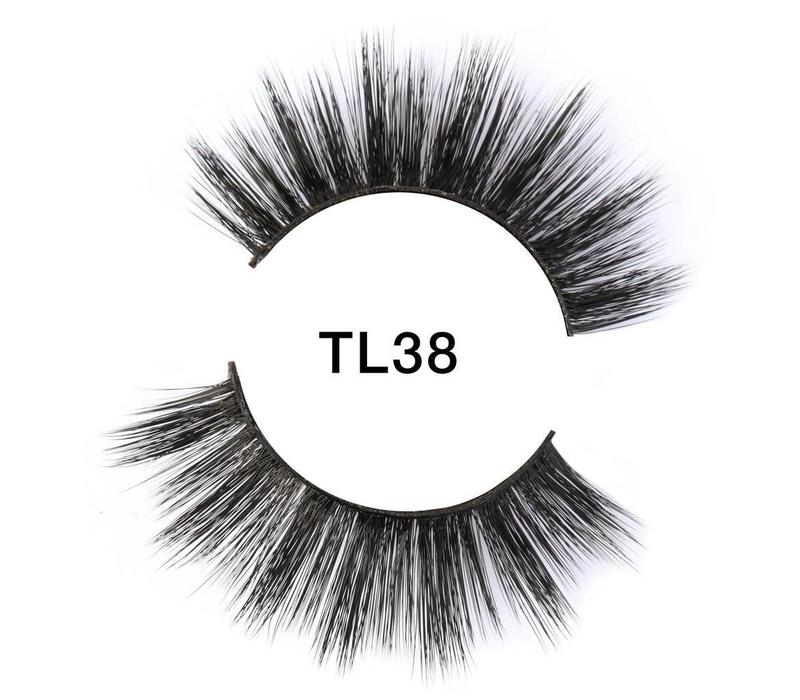 Tatti Lashes 3D Brazilian Silk Hair TL38