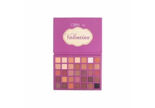 Beauty Creations 35 Color Eyeshadow Palette Valentina
