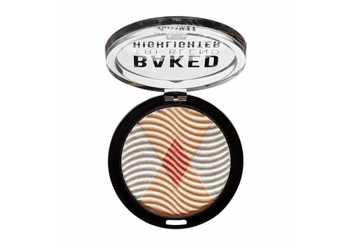 Barry M Baked Tri-Blend Highlighter Silver Solstice