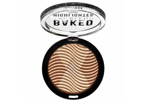 Barry M Baked Tri-Blend Highlighter Bronze Deco